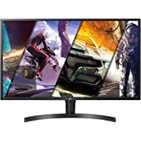 LG 32UK550-B 32 Inch 4K UHD Monitor, 4ms (GTG), HDMI, Radeon FreeSync, DCI-P3 95 Percent, Screen Split, Speaker, Black