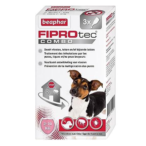 Beaphar Combo FIPROtec® - Pipetas anti pulgas y anti garrapatas
