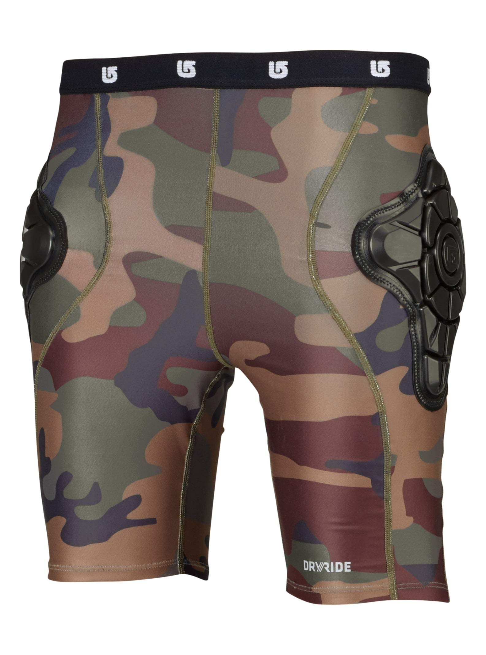 Burton Boy's Youth Total Impact Short, Highland Camo, Medium