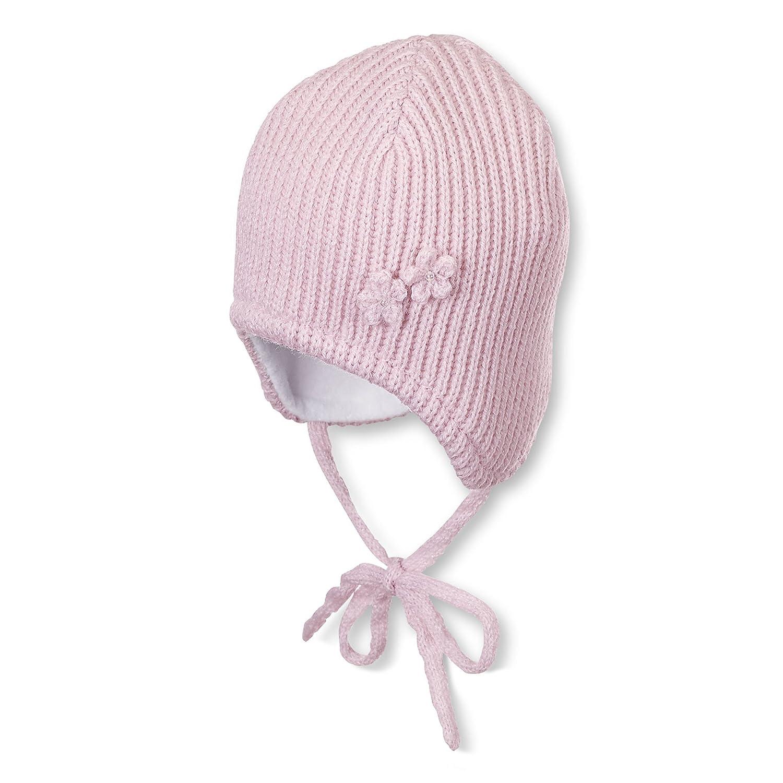 Sterntaler Baby-Mädchen Mütze Strickmütze (rosa 702) 45 4701644