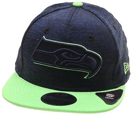 4044b94dc935 New Era and NHL Sports Jersey 9Fifty Flatbill Cap ~ Seattle Seahawks