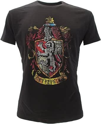T-Shirt Camiseta BLASON Armas de Casa de Gryffindor Harry Potter - 100% Oficial Warner Bros