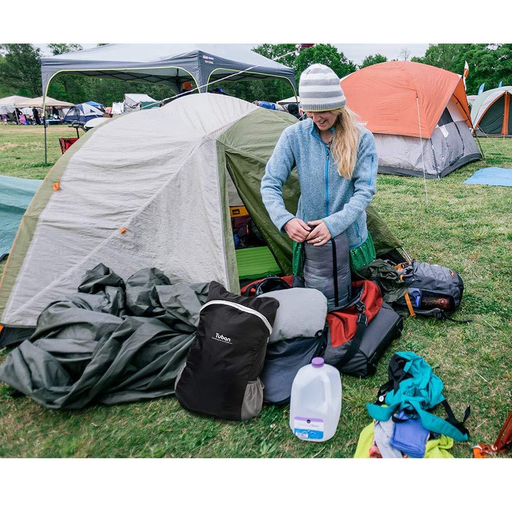 flintronic/®Zaino Outdoor Leggero Campeggio Zaino Pieghevole Zaino Piccolo Unisex Viaggi Zaino Da Montagna Resistente AllAcqua Per Sport Zaino Con Zaino Da 20 Litri Scuola Moschettone