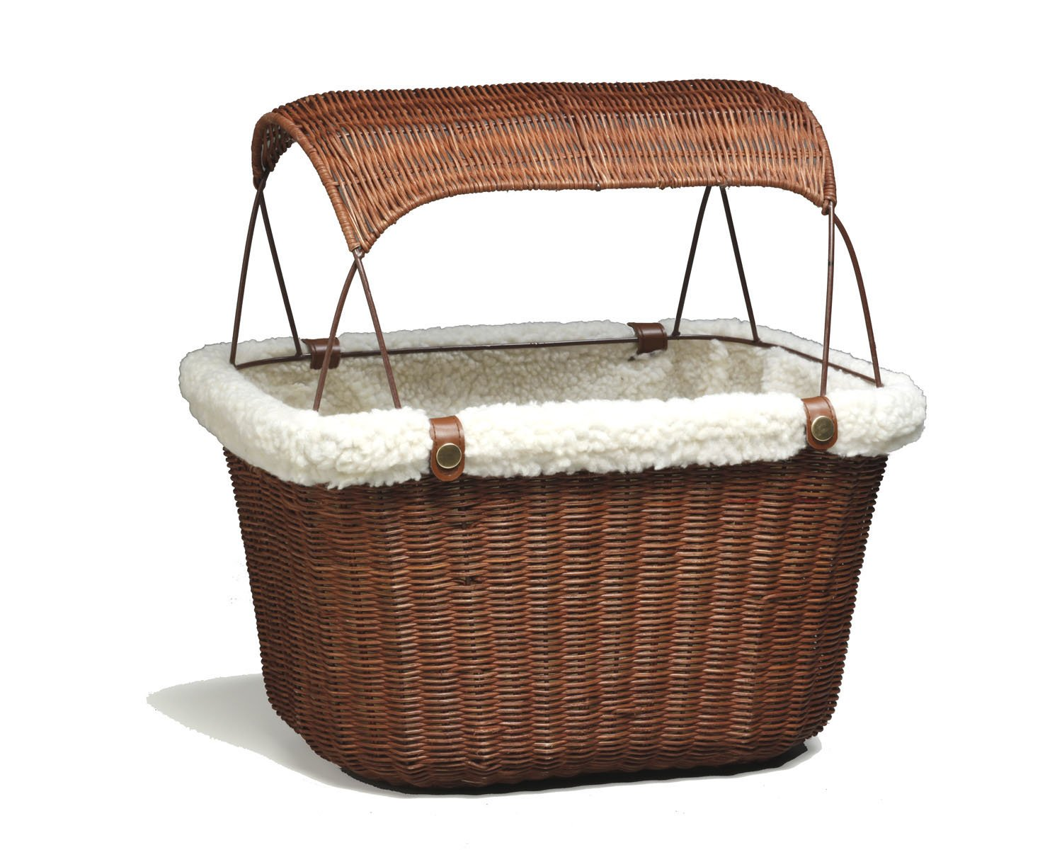 PetSafe Solvit Tagalong Bicycle Basket, Dog Carrier for Bikes, Best for Dogs Up to 13 lb. 62331