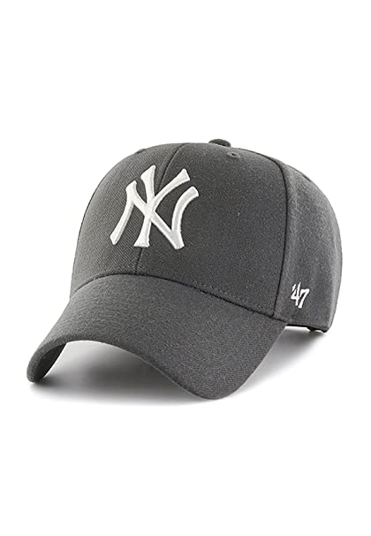 best website 54995 7f877 47 brand Cappellino Mlb New York Yankees Mvp Curved V Struct fit carbonio  formato  OSFA (