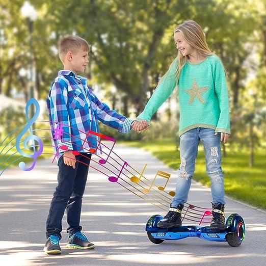 Amazon.com: TST Adorable patinete eléctrico de dos ruedas ...