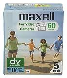 Maxell DV Kassetten (5er Pack, 60 Min, eingeschweißt) (UK Import)