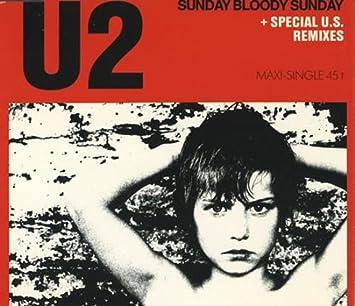 Sunday Bloody Sunday >> U2 Sunday Bloody Sunday Special U S Remixes Amazon Com Music