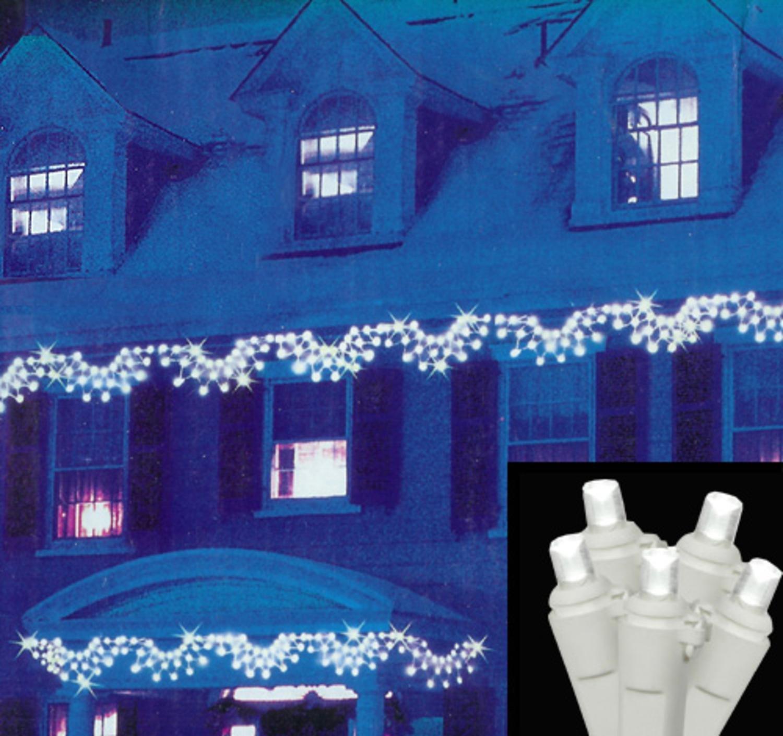 Amazon.com: Vickerman Pure LED Wide Angle Swag Christmas Lights ...