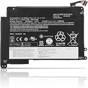 ZTHY 00HW020 00HW021 Laptop Battery Replacement for Lenovo ThinkPad Yoga 460 P40 20GQ 20GR 20EL 20EM 20FY 20G 20G0 Series Notebook SB10F46458 SB10F46459 3ICP6/55/90 11.4V 53Wh 4540mAh