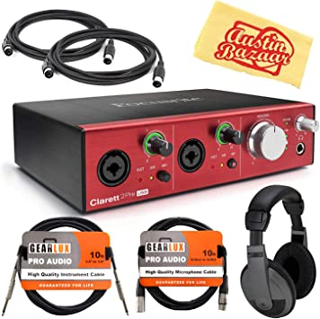 Amazon.com: Focusrite Clarett - Juego de 2 cables de ...