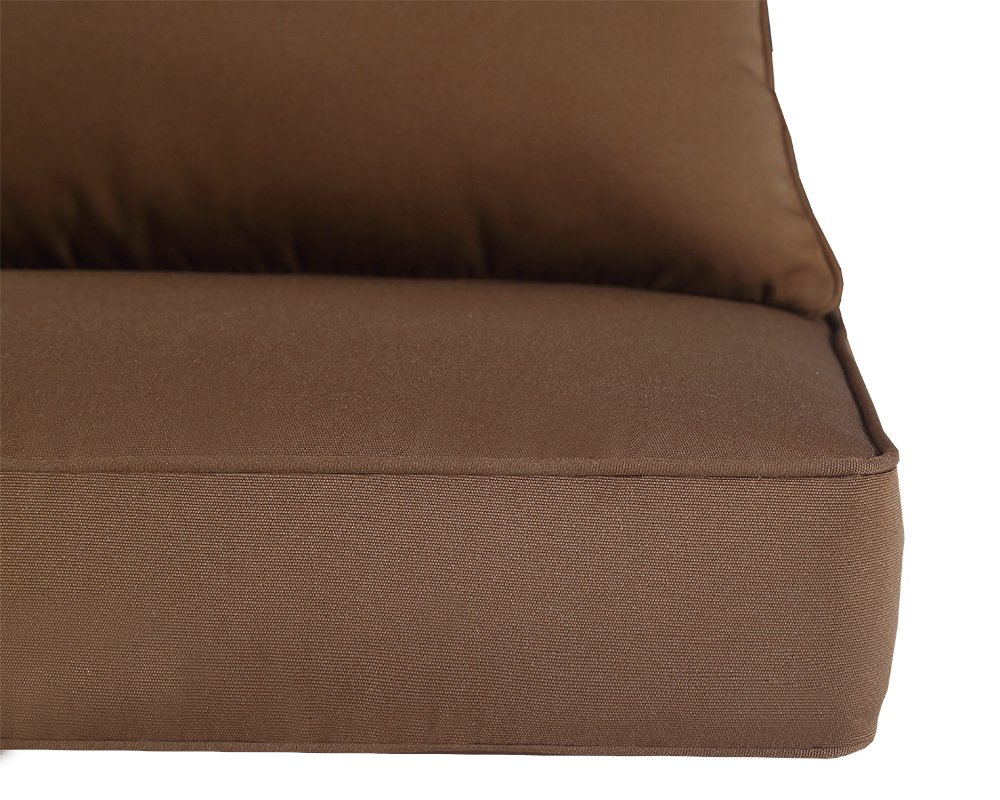 Qilloway Outdoor/Indoor Deep Seat Chair Replacement Cushions Set For ...