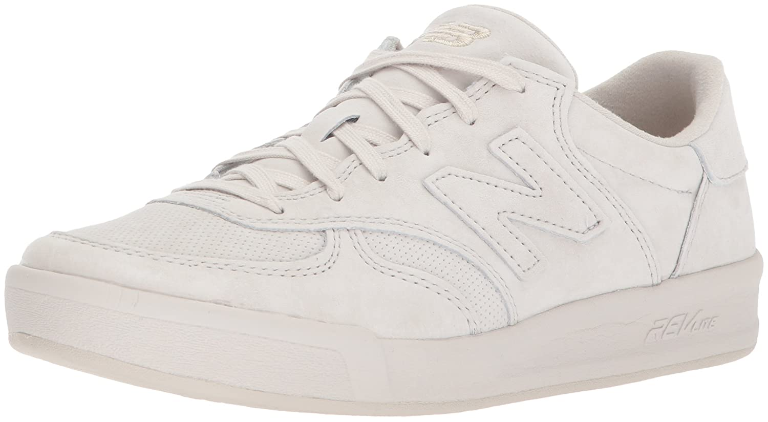 New Balance Women's 300v1 Sneaker B07176HLKP 5 D US|Moonbeam/Seasalt