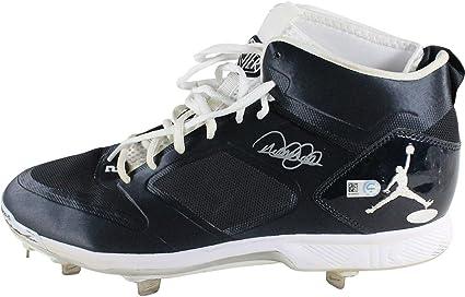 602b3c3b67b Derek Jeter Signed 2014 Game Used Blue/White/White Cleats (Single ...