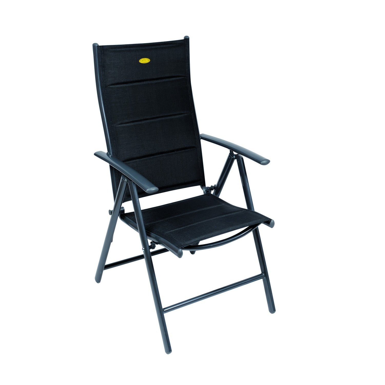 Amazon.com: Camp 4 Ischia Mega Comfort Dark Frame Reclining Camping ...