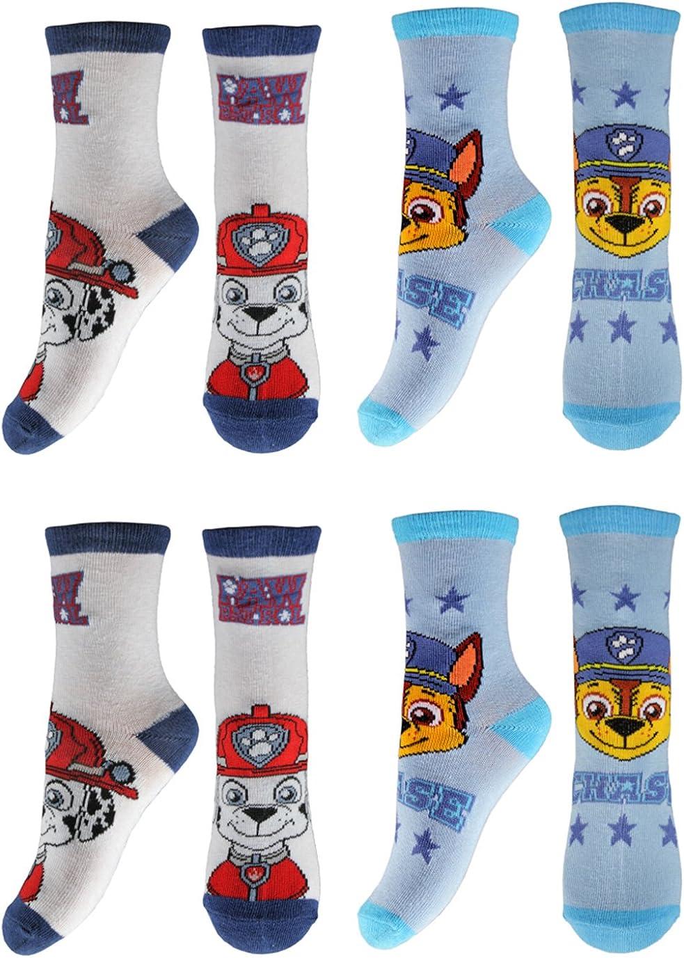 Pack of 4 Paw Patrol Socks