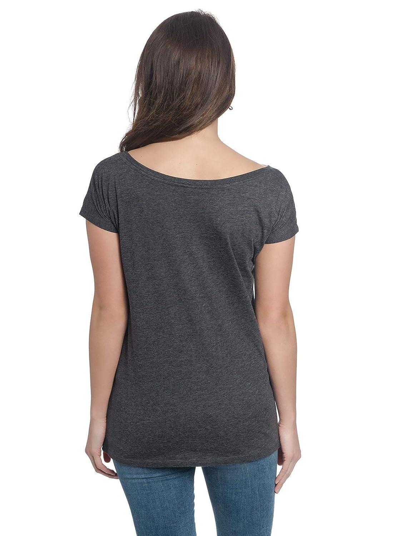 Disney Tinkerbell Don/'t Grow Up Girl Shirt Frauen T-Shirt grau-meliert