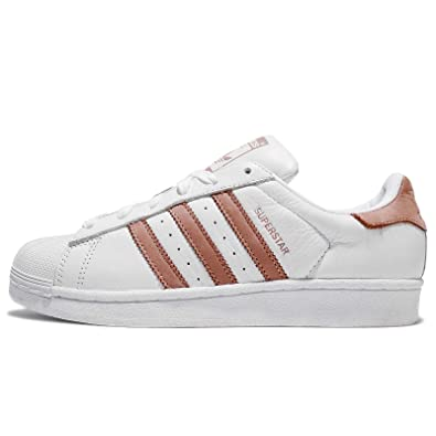 adidas Originals Baskets Superstar Blanc Femme: Amazon.fr ...