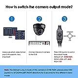 ZOSI 2.0MP FHD 1080p Dome Camera Housing Outdoor