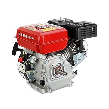 EBERTH 6,5 CV / 4,8 kW Motor de gasolina de 4 tiempos 20mm: Amazon ...