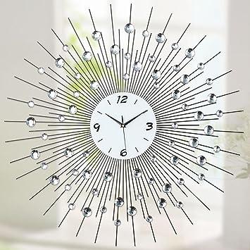 Aoligei Tamaño del Reloj de Pared Digital Puntero Moderno: 60 * 60cm El Reloj de Pared Perfecto para una Oficina, salón de Clases, Dormitorio o baño: ...