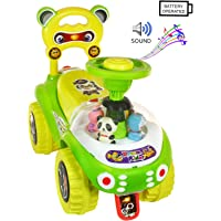 Deal Bindaas Kid's Plastic Dream Rider, 2-5 Years (Green)