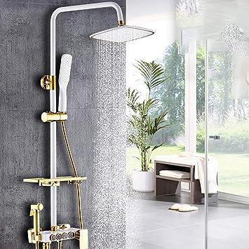 Ducha negra ducha de cobre ducha de pared para hogar ducha de ...