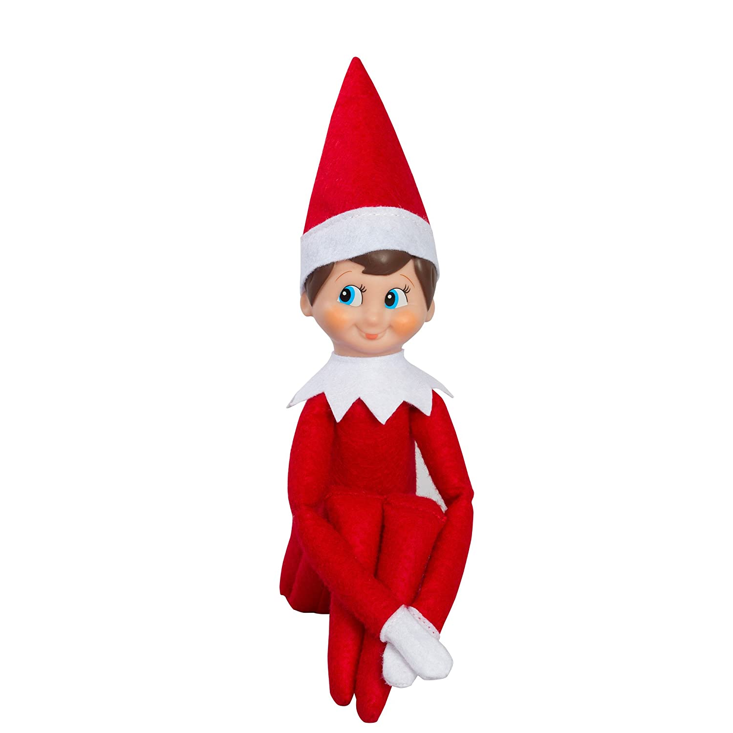 amazon com the elf on the shelf a christmas tradition with blue