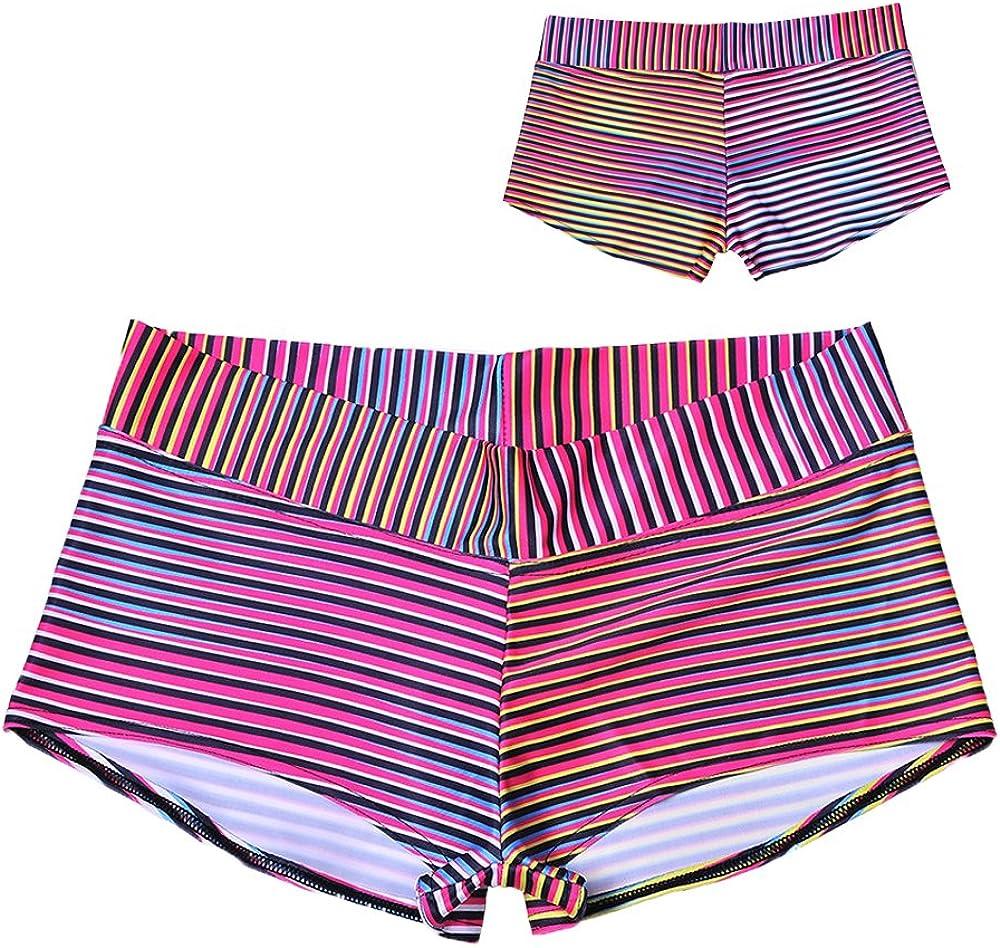 ZHANGJZJ 3D Printed Running Women Yoga Shorts Harajuku Gym Fitness Short Pant Elastic