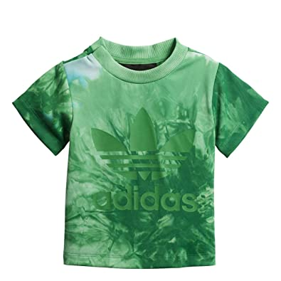 f363f0710 adidas Originals Pharrell Williams HU Holi Infants T-Shirt Green cz0988  (Size 18M)  Amazon.co.uk  Clothing