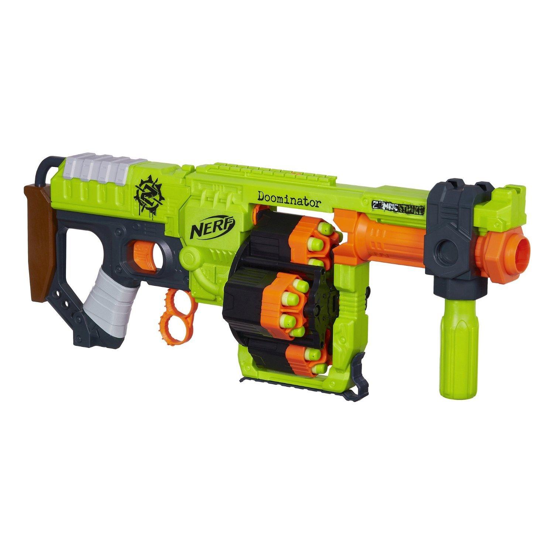 輸入ナーフゾンビストライクアメリカ Nerf Zombie Strike Doominator Blaster [並行輸入品] B016DGUNLU
