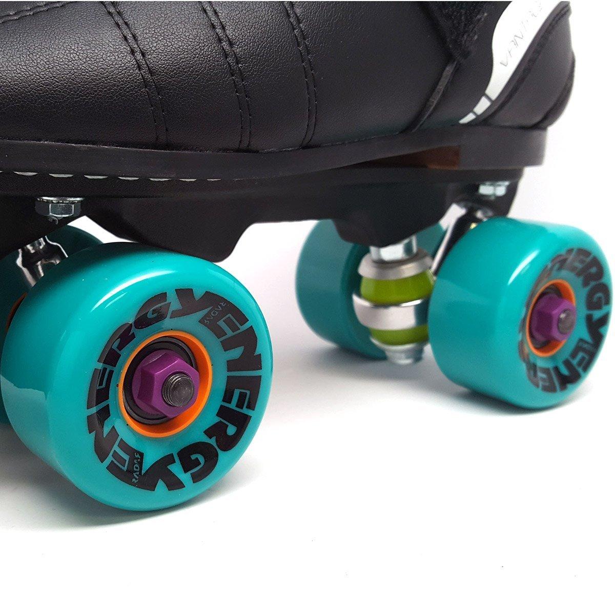 Jackson Phreakskate Outdoor Aqua Energy 62mm Quad Roller Speed Skate New for 2017