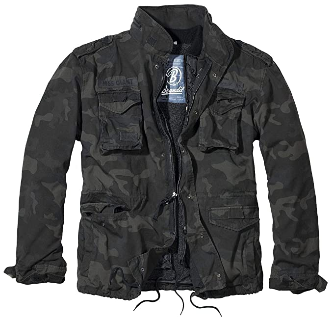5704f8468 Brandit Men's M-65 Giant Jacket: Amazon.ca: Clothing & Accessories