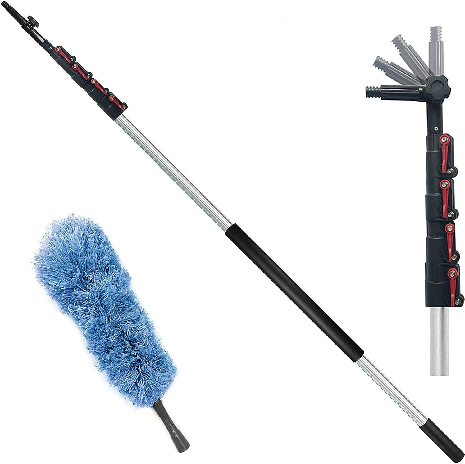 Umien Telescopic Gutter Cleaning Extension Pole