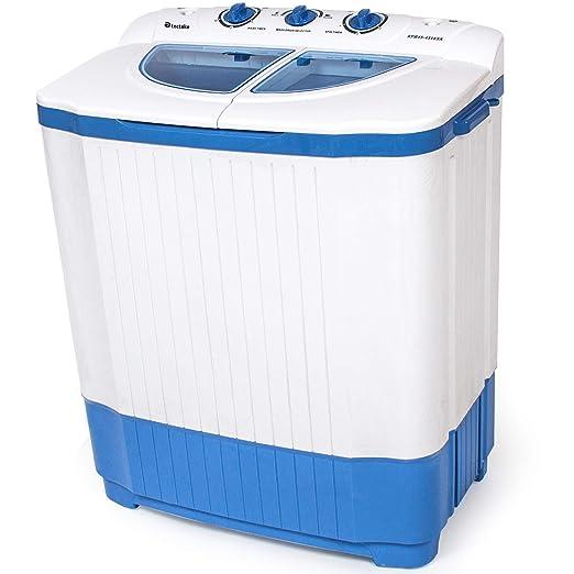 Carte Bleue Machine A Laver.Tectake 400777 Mini Machine A Laver Jusqu A 4 5 Kg Lave Linge Compact