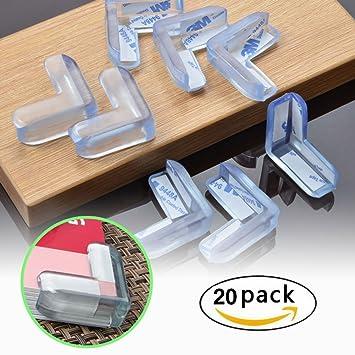 4-10 Kantenschutz Eckschutz Schutz für Kinder und Babys selbstklebend für Möbel