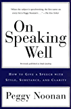 On Speaking Well (English Edition)