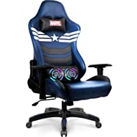 Marvel Avengers Massage Gaming Chair Desk Office Computer Racing Chairs - Adults Gamer Ergonomic Game Reclining High…