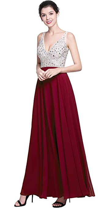 Review QSYE Women's Beaded Prom