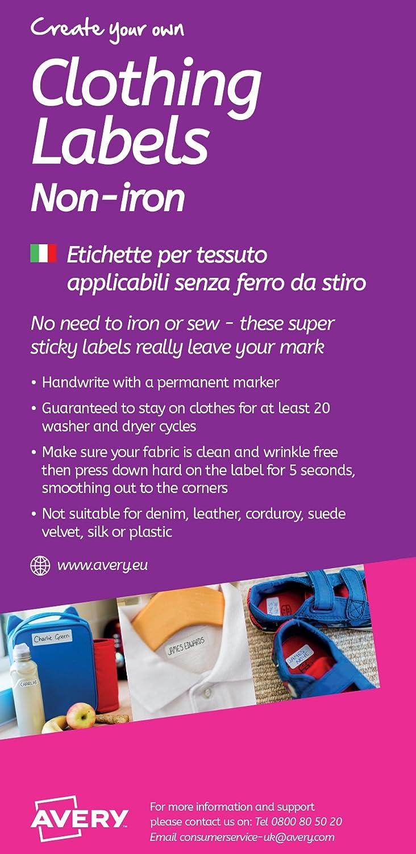 tamaños Label perchas etiquetas 20 tamaños de etiquetas para la plancha Handmade