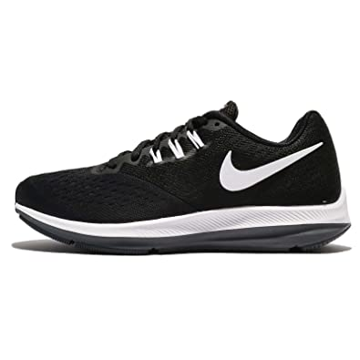 buy online 161c2 2cdf2 Nike WMNS Zoom Winflo 4, Chaussures de Running Compétition Femme, Noir  (Black