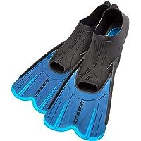 Cressi - Aletas de natación para Adultos con luz Corta, con Bolsillo para el pie Ajustable y cómodo, perfectas para Viajar, Cortas, Fabricadas en Italia