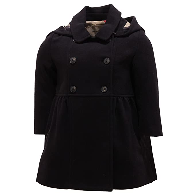 Burberry 2388R Cappotto Girl Bimba Blue capospalla Coat [18 ...