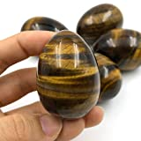 favoramulet Polished Stone Crystal Easter Day Egg