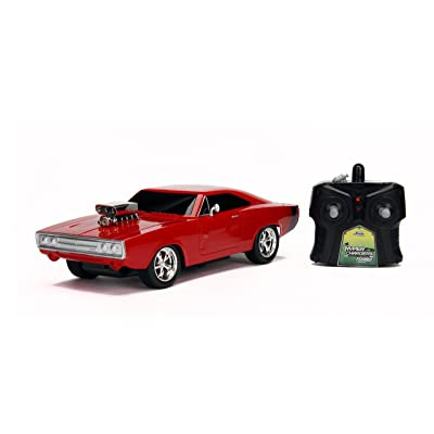Jada Hyperchargers 1:16 Big Time Muscle RC - Dodge Charger: Toys & Games