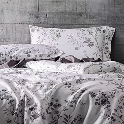 Amazon Com French Country Garden Toile Floral Printed Duvet Quilt
