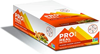 product image for PROBAR Meal Bar Non-GMO, Gluten-Free, Healthy, Almond Cashew Crunch, 36 oz, 12 Count