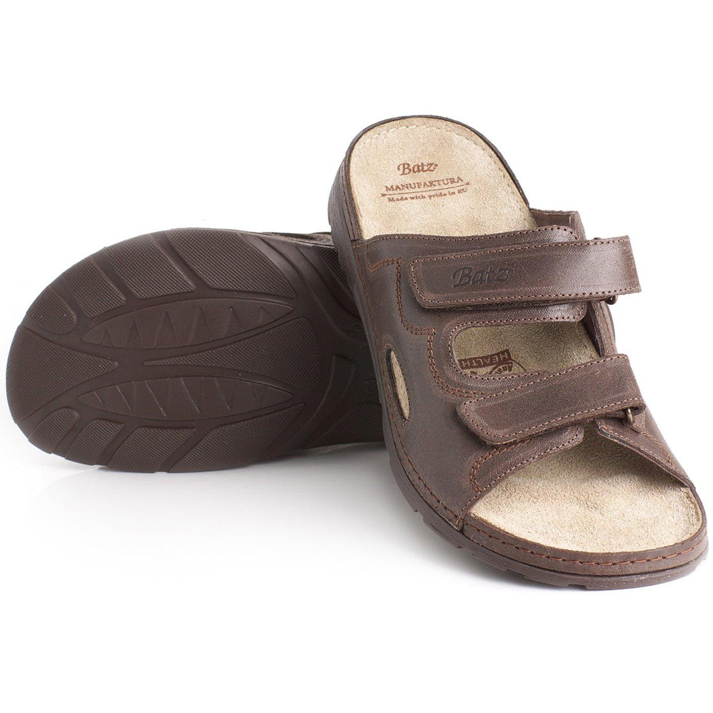 5424c3a39e61 Batz Mike Leather Slip-On Mens Sandals Clogs  Amazon.co.uk  Shoes   Bags