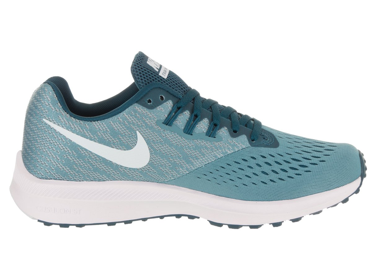 NIKE Women's Air Zoom Blue Winflo 4 Running Shoe Blue Zoom B071444HKS 7 B(M) US|Noise Aqua/Blue Force 61b3bd