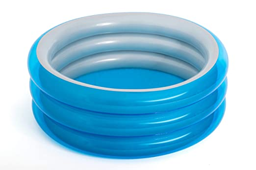 Piscina Hinchable Infantil Bestway Big Metallic 3-Ring Pool 150x53 cm